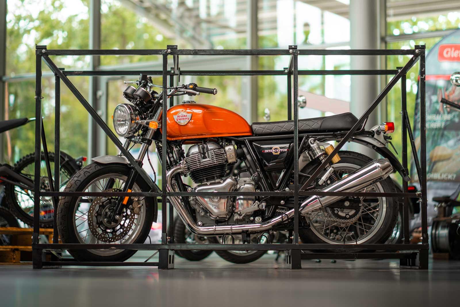 Royal Enfield - Motorradtradition seit 1901.