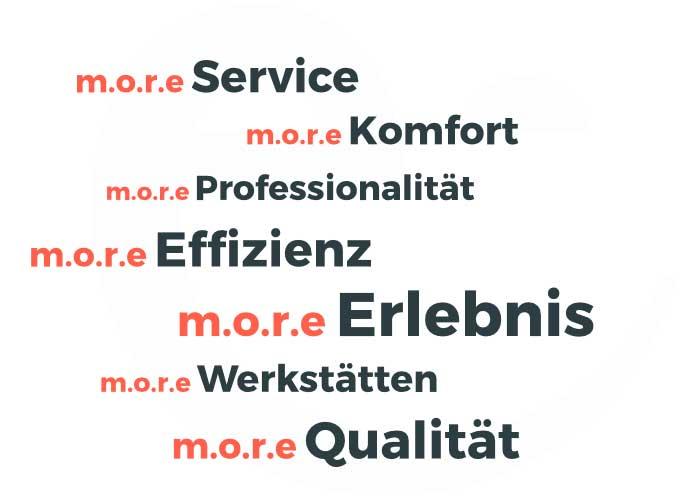 m.o.r.e. Werkstatt