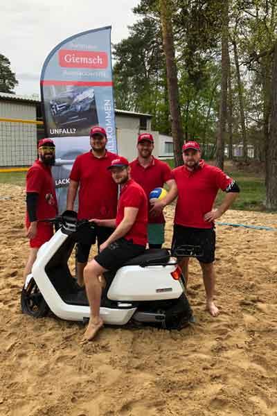 Beachvolleyball Turnier Waldbad Grabow am 11.05.2019