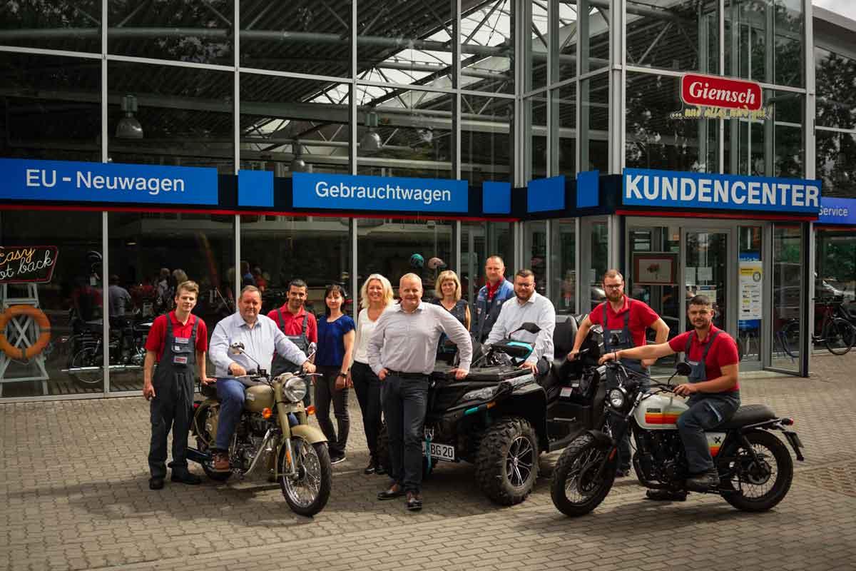 Unser Team - Autohaus Giemsch in Grabow